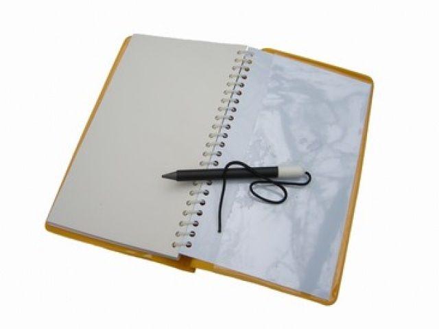 Notes na psaní s tužkou trhací, modrý NTEC