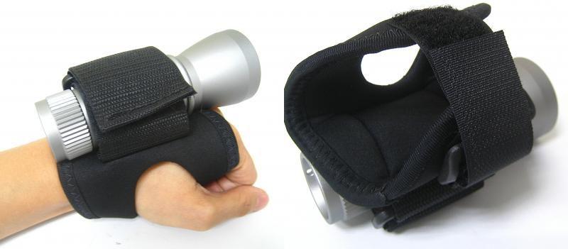 Goodmanova ručka pro uchycení svítilny na ruku NTEC