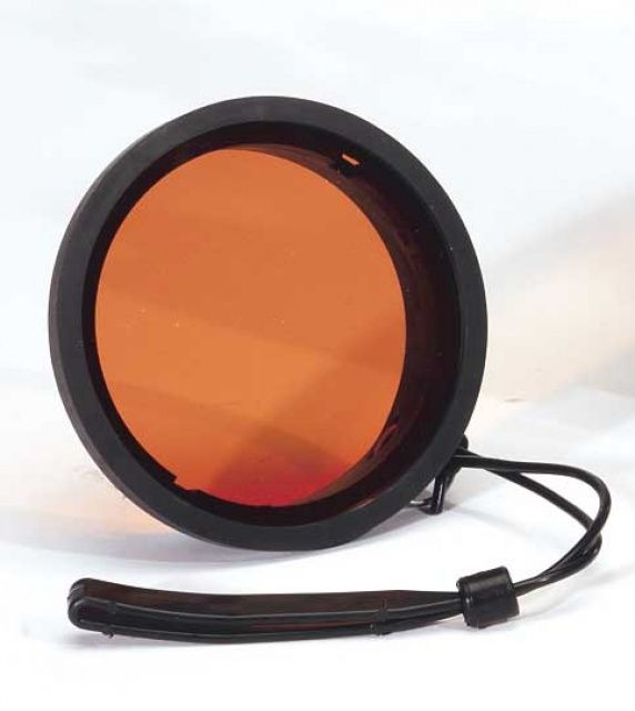 Filtr korekční červený 9,2cm IKELITE
