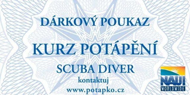 Poukaz Kurz potápění NAUI SCUBA DIVER