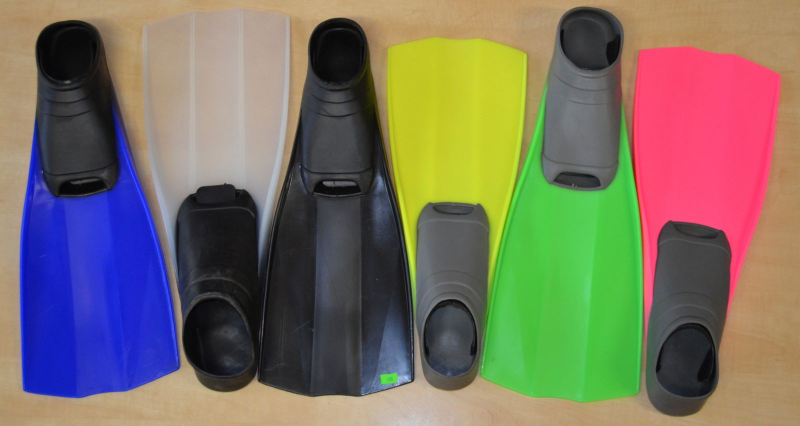 Ploutve SNORKEL s botičkou, vhodné i pro přístrojové potápění mdc