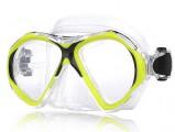 Silva silikonová maska, brýle na potápění, dělená skla NTEC